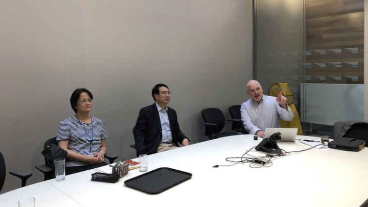 Visit from chinese embassy education session august 2019