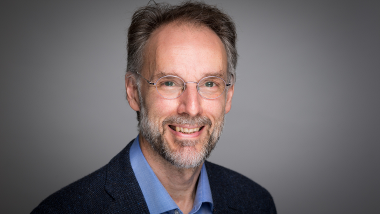 Horizontal portrait of Professor Michael Dustin