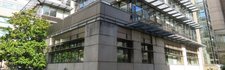 Image of the extenal view of the Peter Medawar Building