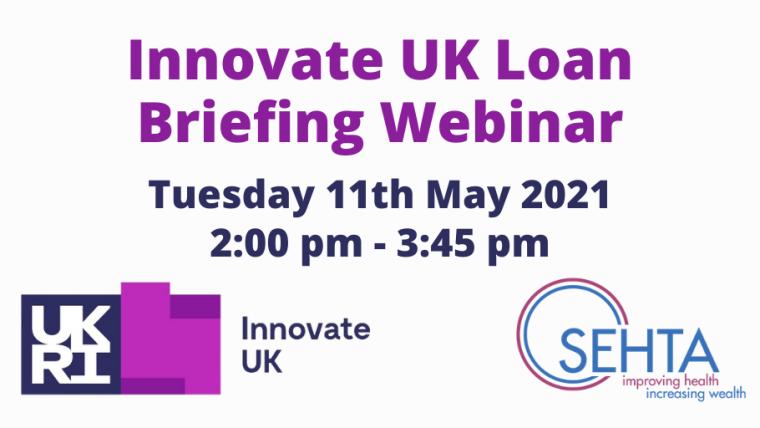 Innovate UK Loan Briefing Webinar flyer