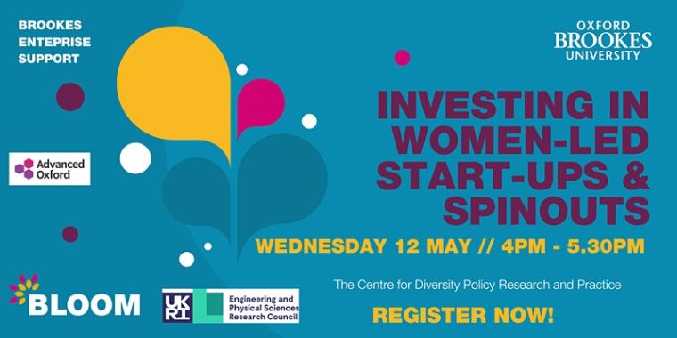 Investing in Women-led Start-ups and Spinouts flyer