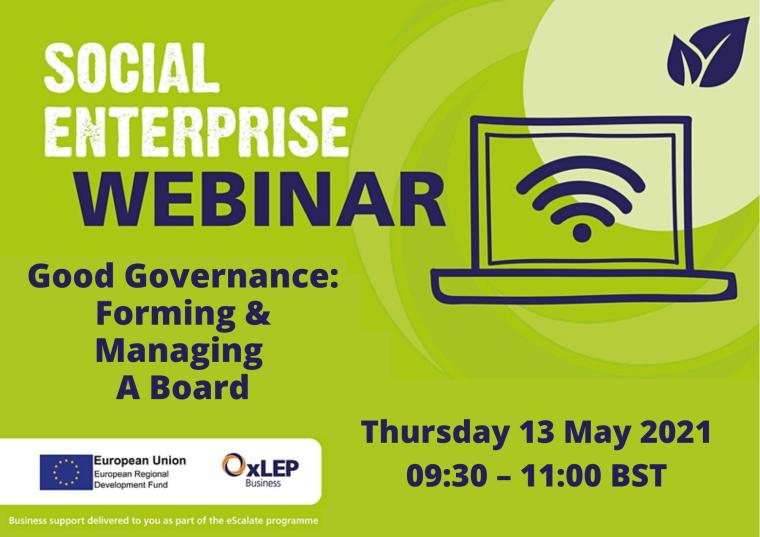 Good Governance: Forming & Managing A Board flyer