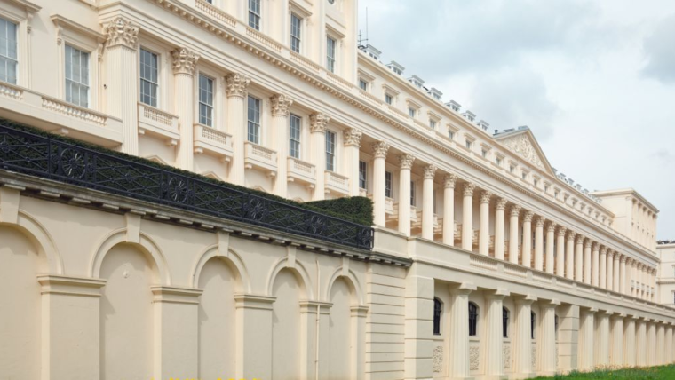 Carlton House Terrace, where the Royal Society is based