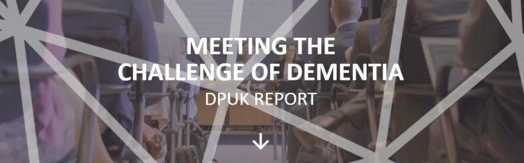 Screenshot of the latest DPUK annual report