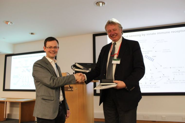 Jan rehwinkel delivers lister institute prize lecture