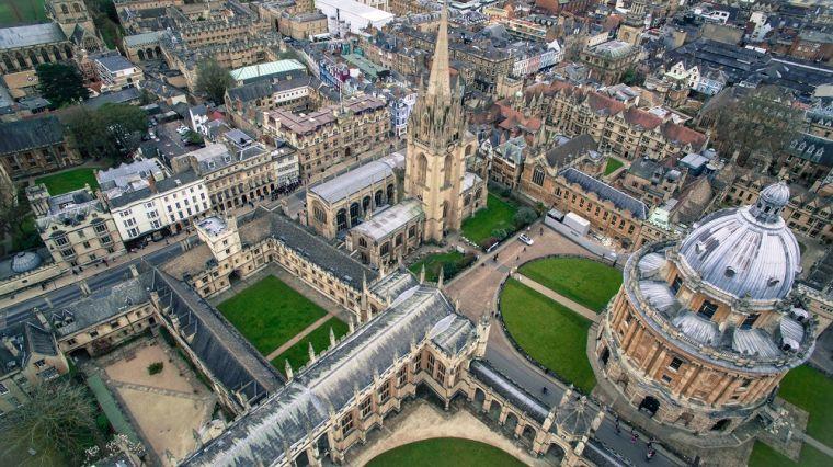 Oxford skyline unsplash