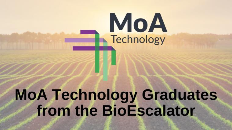 MoA Technology Graduates from The BioEscalator