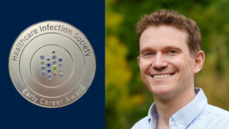 David Eyre portrait photo for Healthcare Infection Society award