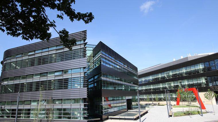 Image of the Big Data Institute building