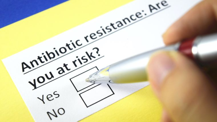 Form to assess risk of antibiotic resistance