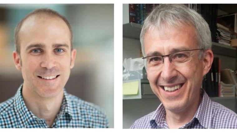 Professor Robert Klose and Professor Ervin Fodor