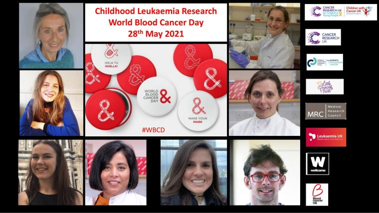 Image of researchers involved in world blood cancer day 2021