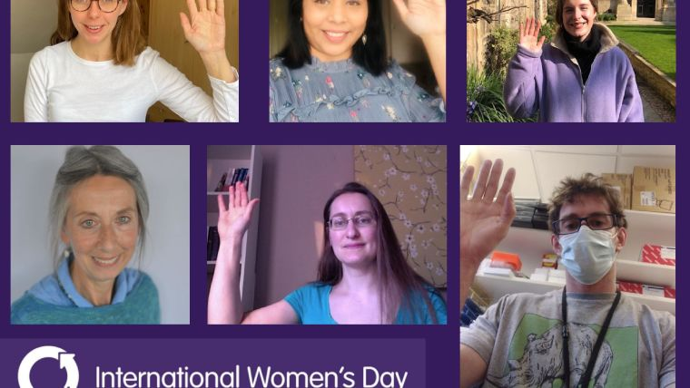 Image of staff who took part in International Women's Day 2021