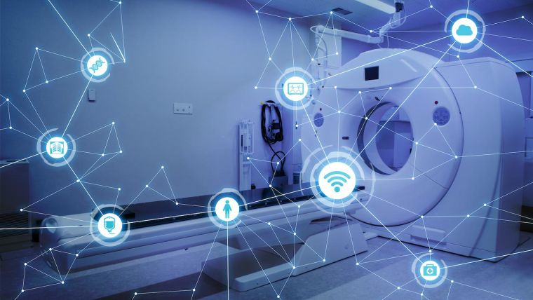 CT scanner and digital imagery