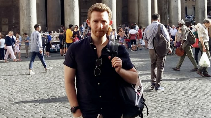 Student profile picture, Dr. Alan Brunton