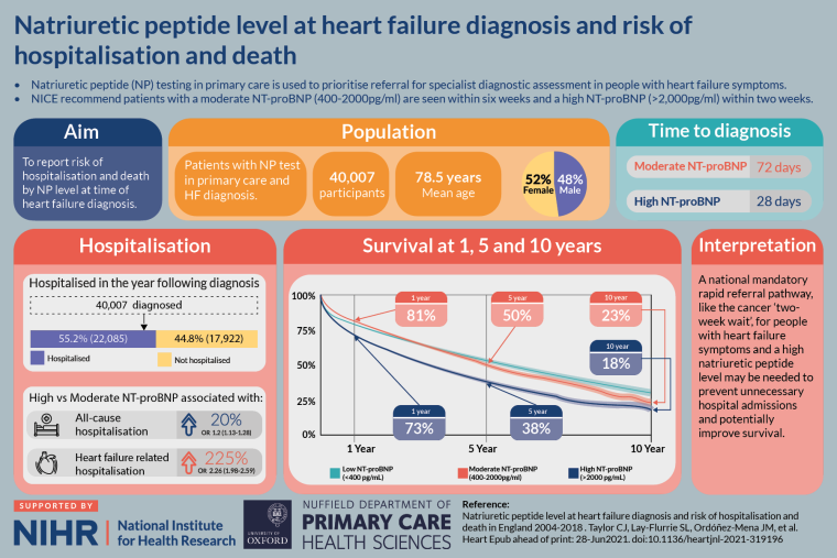 An infographic / visual abstract of the studies main findings and the authors conclusions