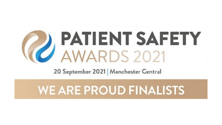 Patient Safety Awards 2021 We are finalists