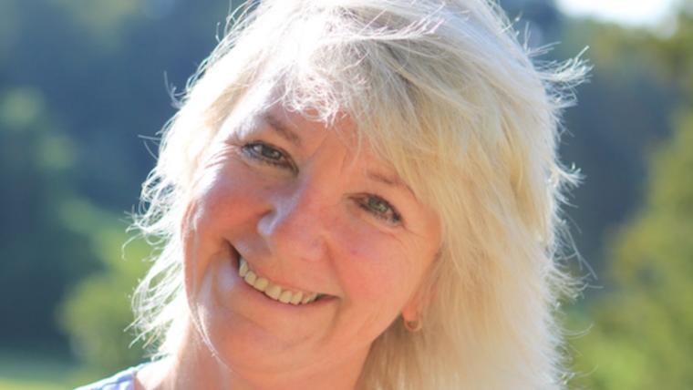 A portrait of Gayle Poole