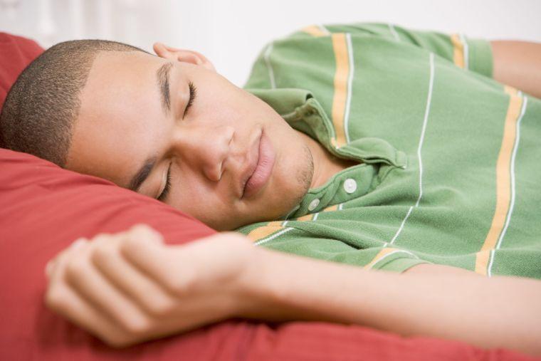 Image of boy sleeping