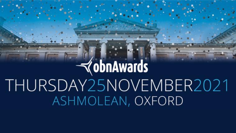 OBN Awards 2021 flyer