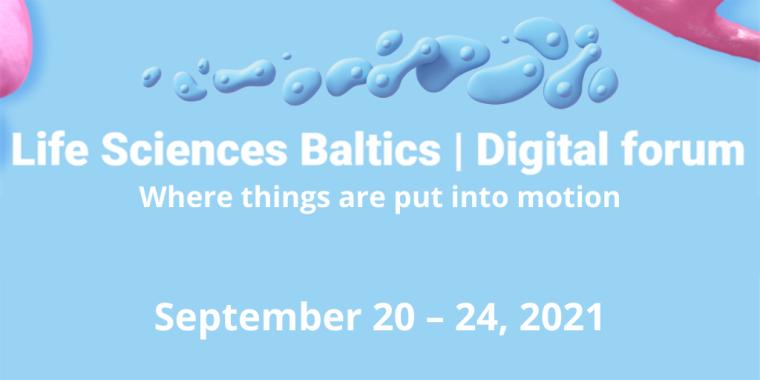 Life Sciences Baltics Digital Forum Flyer