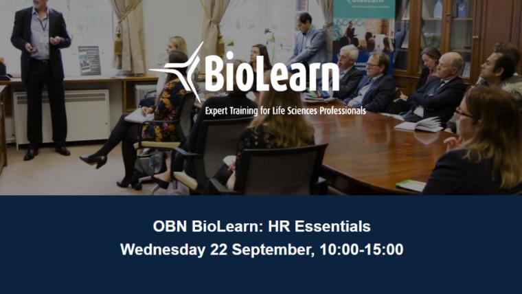 OBN BioLearn: HR Essentials Flyer