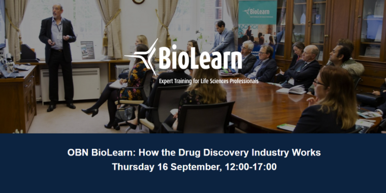 OBN BioLearn: How the Drug Discovery Industry Works Flyer