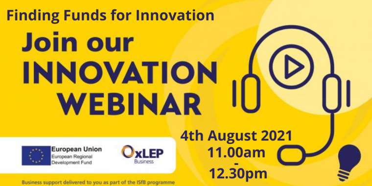 Finding Funds for Innovation Flyer