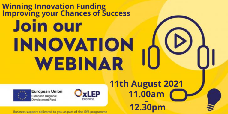 Winning Innovation Funding – Improving your Chances of Success Flyer