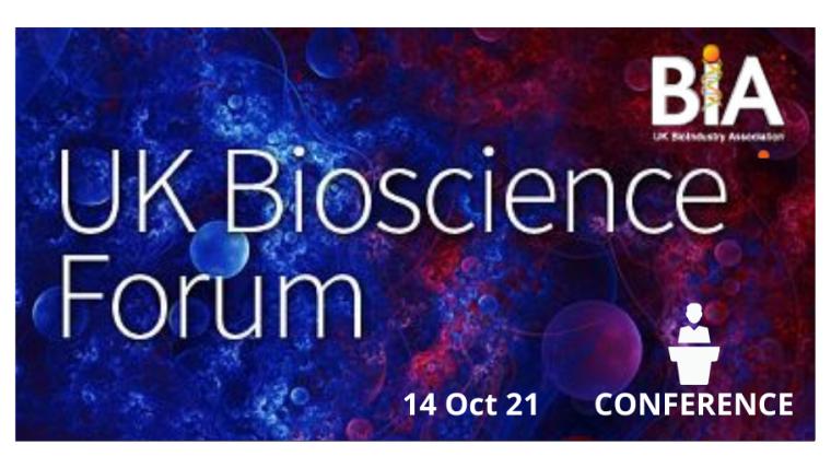UK Bioscience Forum 2021 Flyer