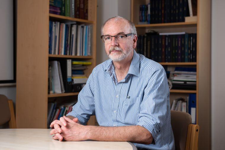 Portrait of Sir Andrew Pollard