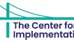 The image shows The Center for Implementation logo