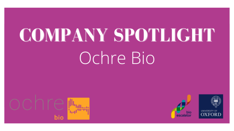 Ochre Bio's logo with large white surrounding boarder