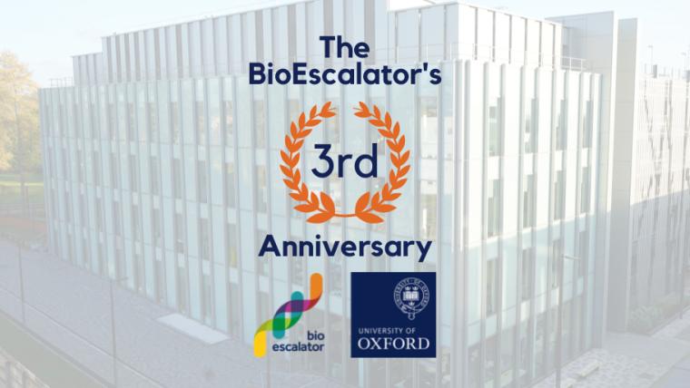 BioEscalator's 3rd anniversary