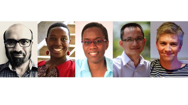 Rashan Haniffa, Dorcas Kamuya, Isabella Oyier, Le Van Tan, Timothy Walker