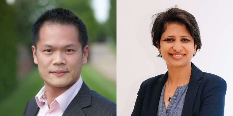 New Associate Professors Regent Lee and Pankaj Roy