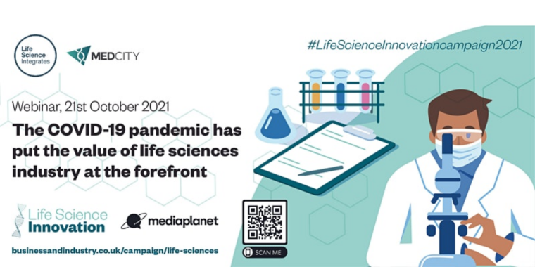UK life sciences industry at the forefront during COVID-19 pandemic - Flyer