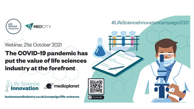UK life sciences industry at the forefront during COVID-19 pandemic flyer