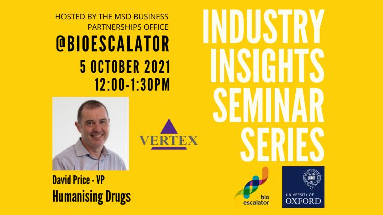 Industry Insight Seminar Series with Vertex