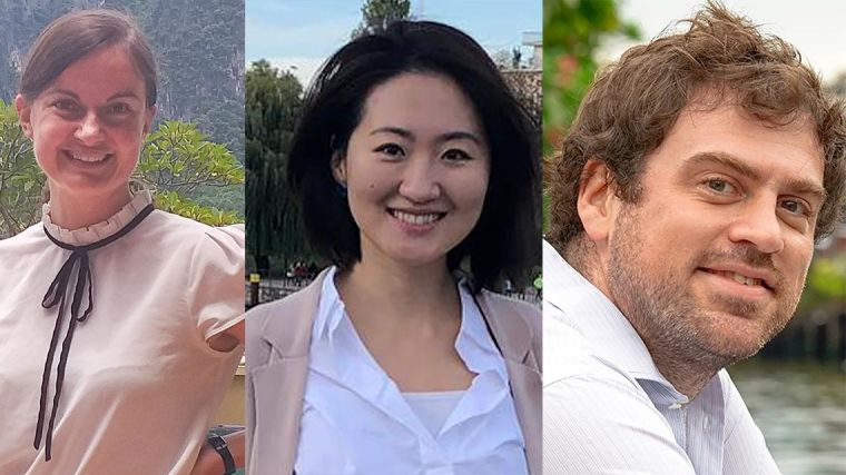 Mo Yin, Rebecca Inglis, William Schilling