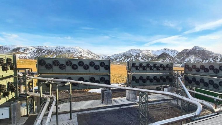 Iceland's Orca, the world's first and largest climate-positive direct air capture and storage plant