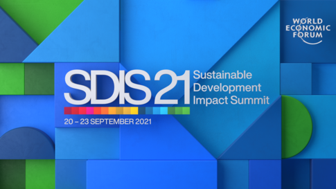 Front page image of the Sustainable Development Impact Summit 2021