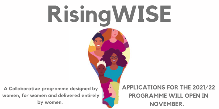 RisingWISE 21/22 Flyer
