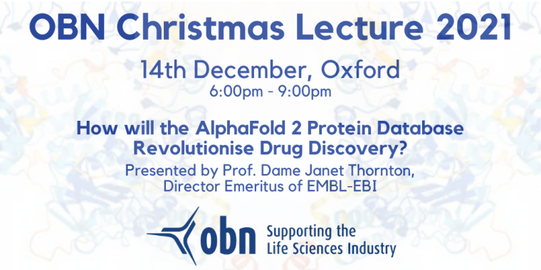 OBN Christmas Lecture 2021 Flyer