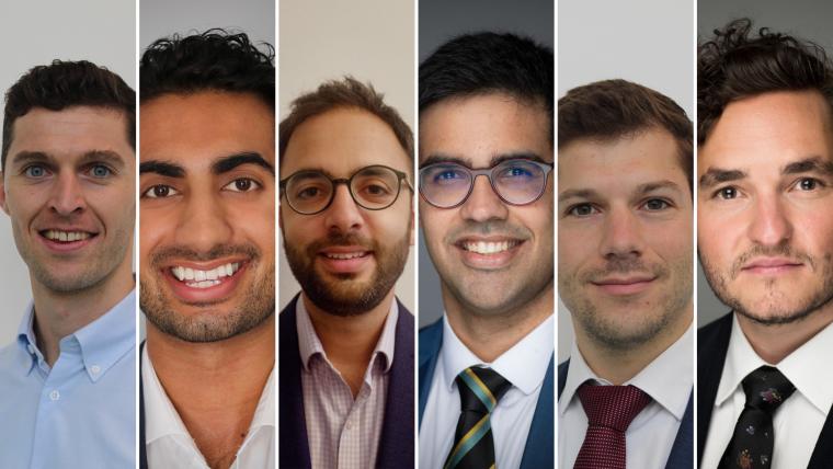 Six NDORMS researchers