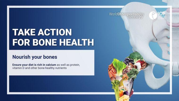 Nutrition to improve bone health
