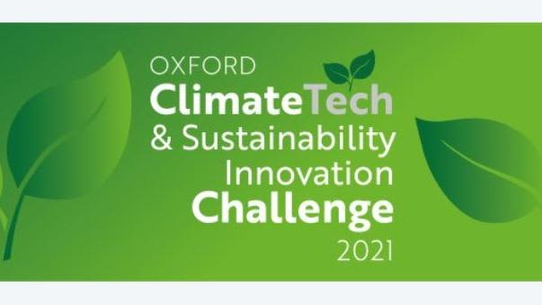 Logo for Oxford Climate Tech & Sustainability Innovation Challenge 2021