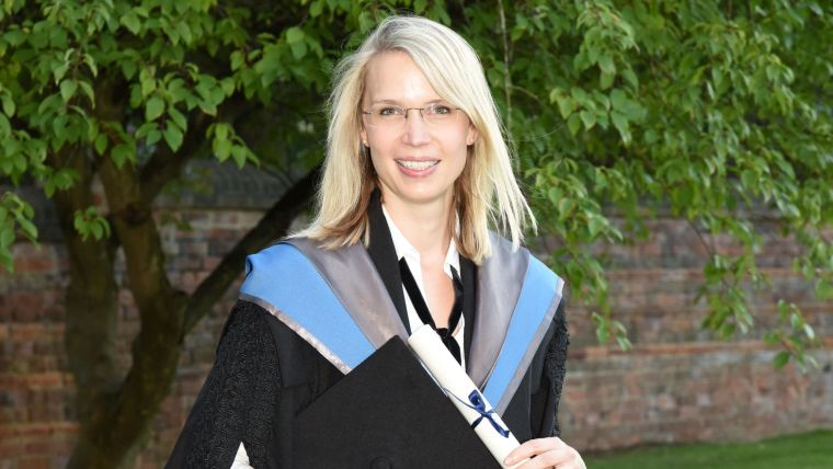 Alumni Nicole Lindner graduation photo