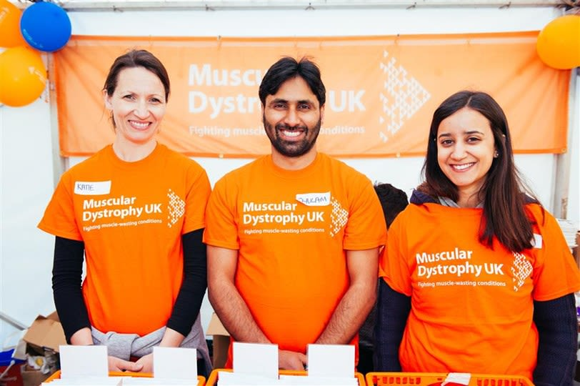 MDUK Oxford Neuromuscular Centre resarchers fundraise for MDUK.