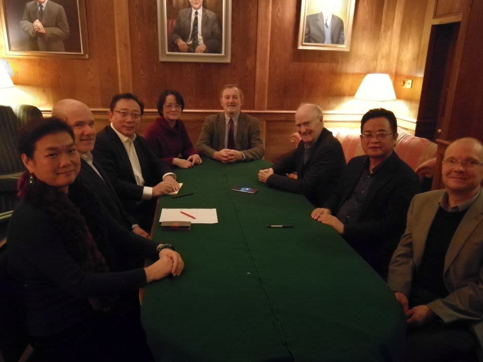 The first COI Steering Group Committee Meeting - 7th December 2018